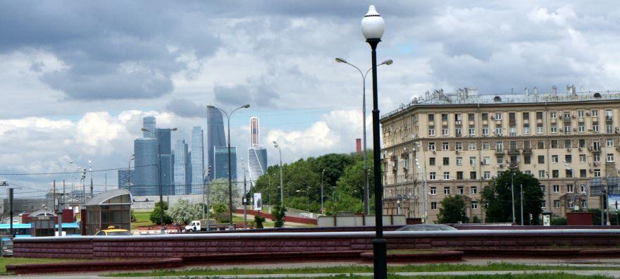 Площадь Гагарина город Москва