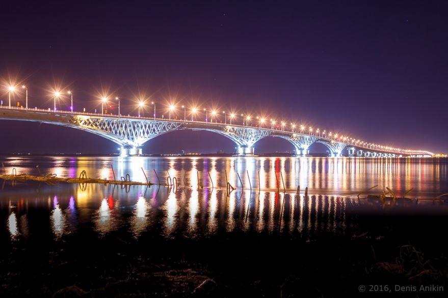 Автомобильный мост между городами Саратов и Энгельс