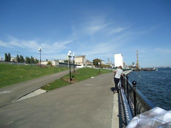 Смотреть лучшее фото набережная города Саратов в хорошем качестве