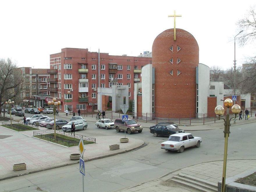 Собор Петра и Павла город Саратов