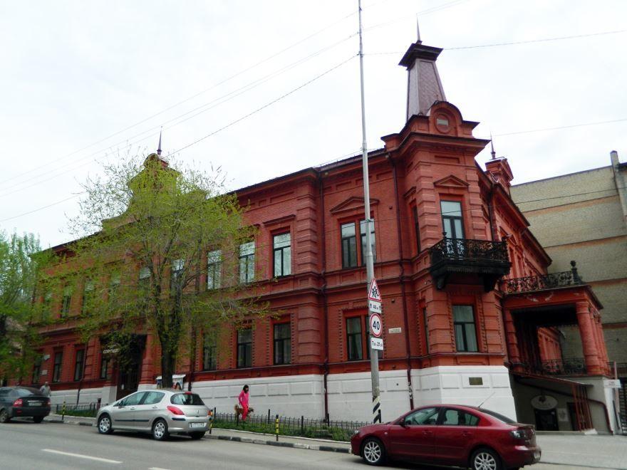 Усадьба П.П. Шмидта город Саратов