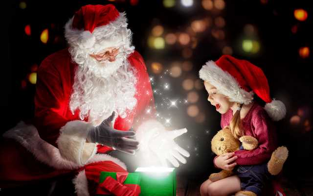 Дед Мороз картинки