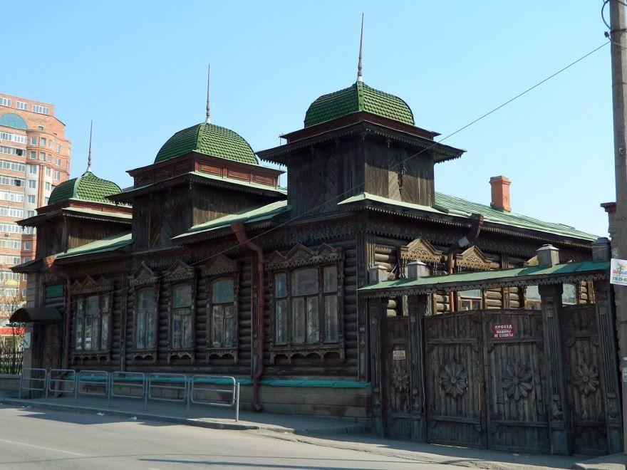 Дом-особняк Рябинина город Челябинск
