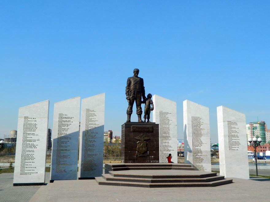 Мемориал Солдатам правопорядка город Челябинск