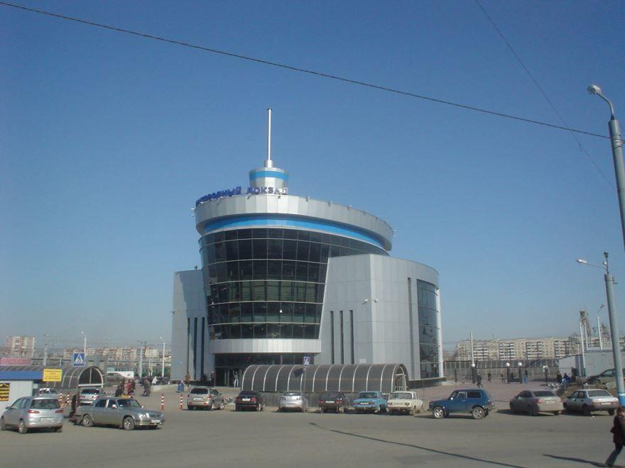 Вокзал города Челябинск