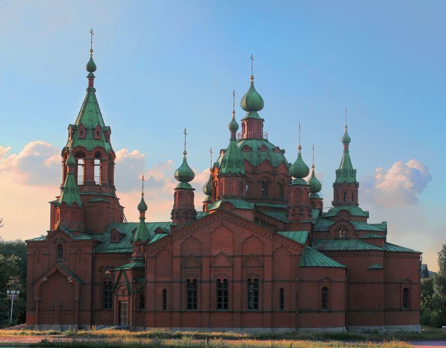 Зал камерной и органной музыки церковь Александра Невского город Челябинск