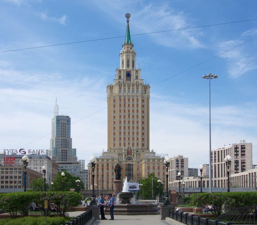 Гостиница Ленинградская в городе Москва Россия