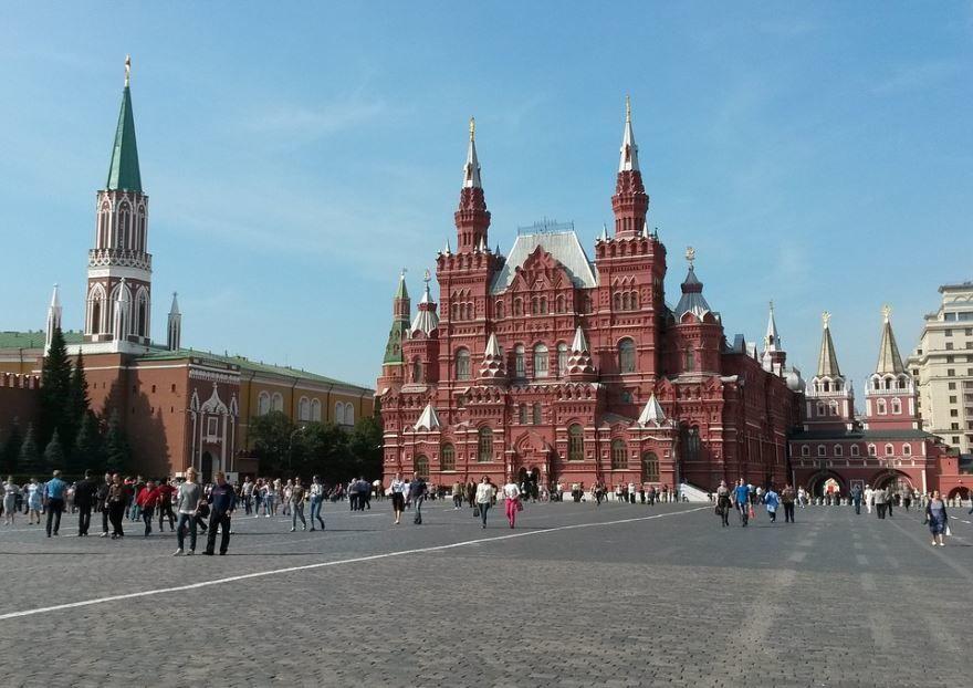 Красная площадь Москва Россия 2019