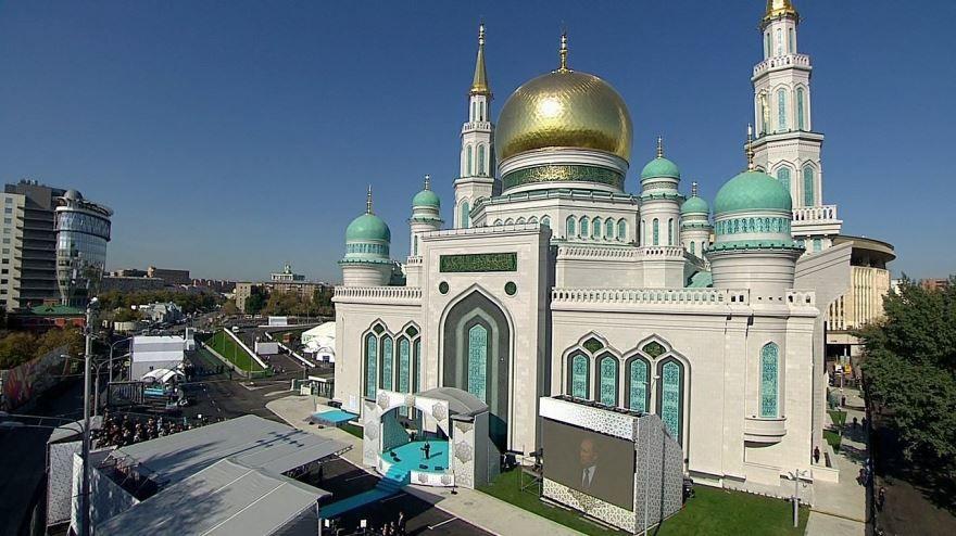 Московская Соборная Мечеть в городе Москва Россия