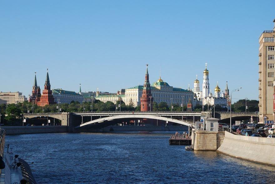 Река Москва город Москва Россия