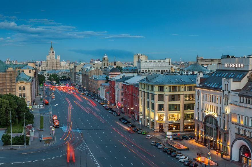 Скачать онлайн бесплатно лучшие фото улиц города Москва в хорошем качестве