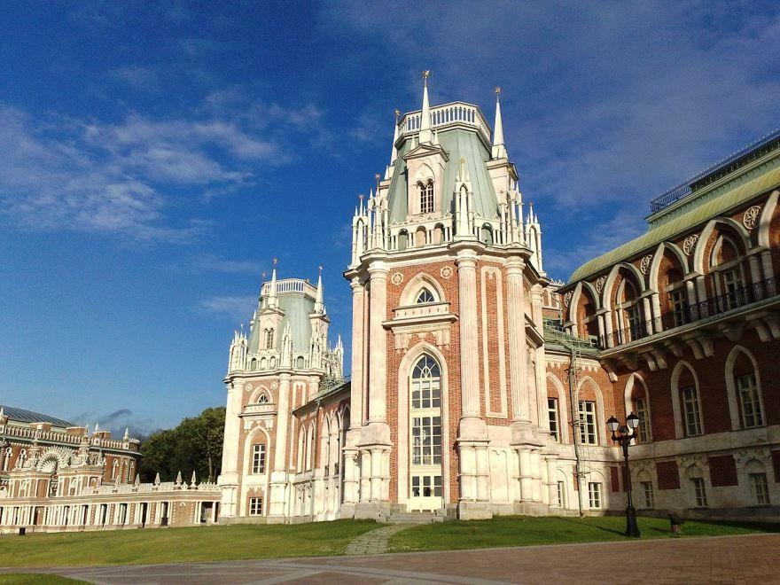 Усадьба дворцовая Царицыно город Москва Россия