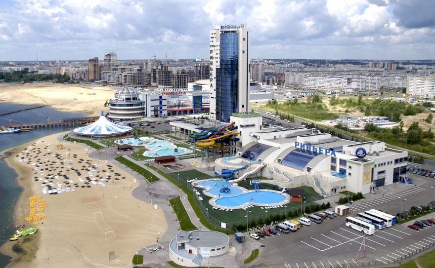 Смотреть красивый вид города Казань в хорошем качестве
