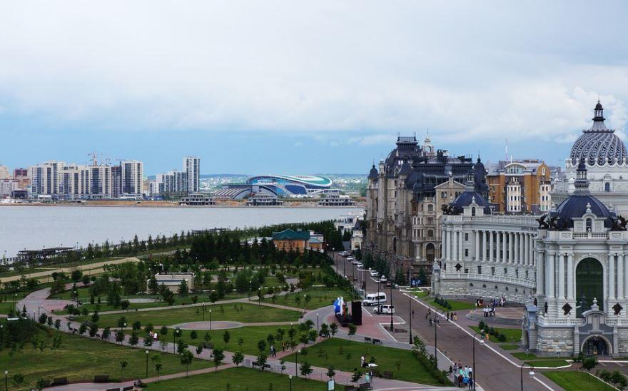 Смотреть лучшее фото города Казань в хорошем качестве