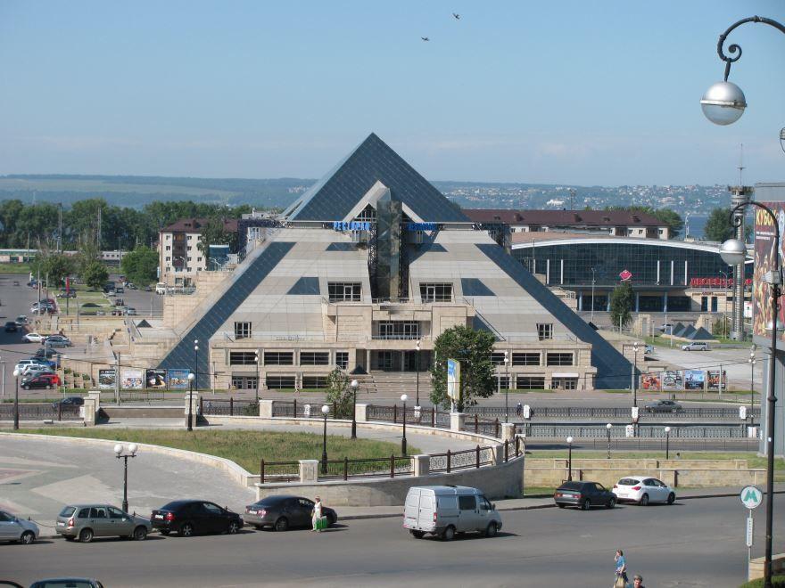 Пирамида город Казань