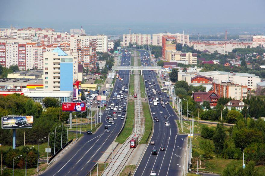 Смотреть красивое фото Проспект Победы город Казань