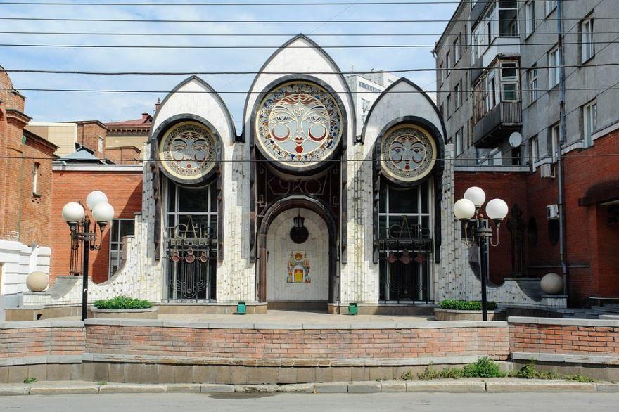 Церковь в городе Новосибирске
