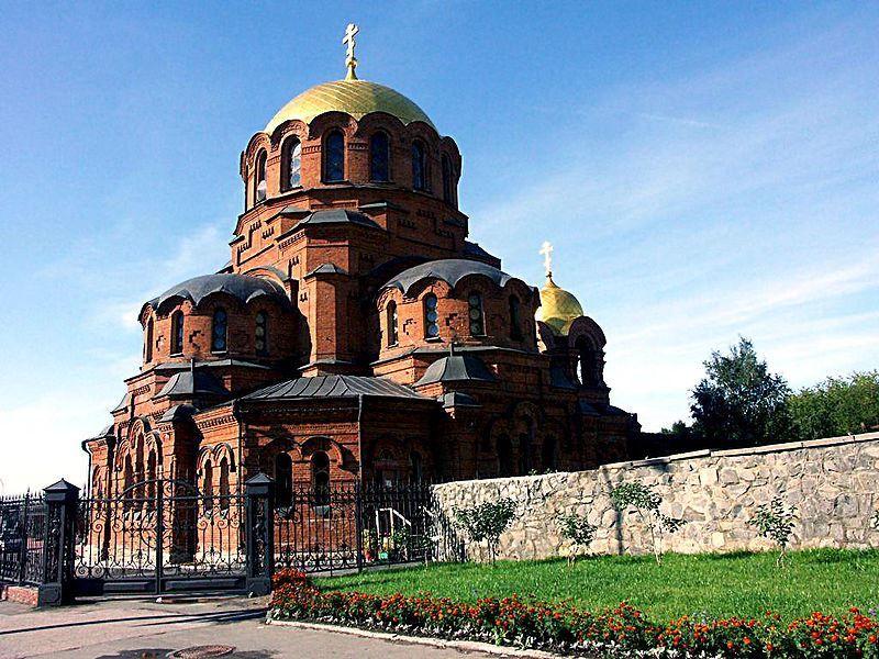 Собор во имя Святого Преподобного князя Александра Невского город Новосибирск