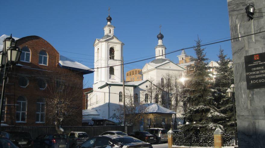 Церковь Михаила Архангела город Тюмень