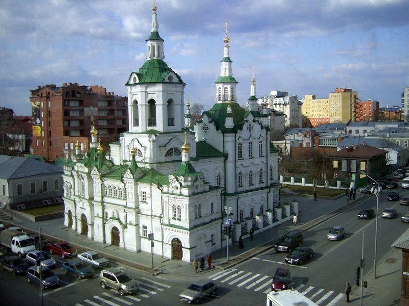 Спасская церковь город Тюмень
