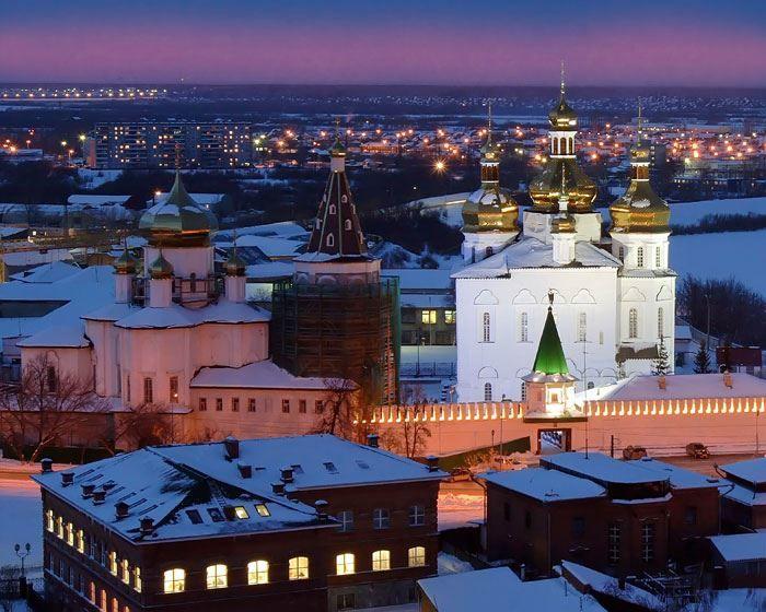 Свято-Троицкий монастырь в городе Тюмень