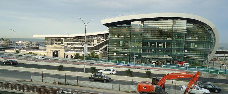 Новый железнодорожный терминал станции Адлер