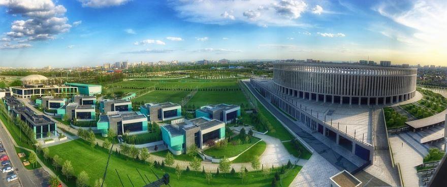 Спортивный стадион город Краснодар
