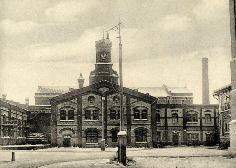 Старинное фото Жигулевский пивоваренный завод город Самара