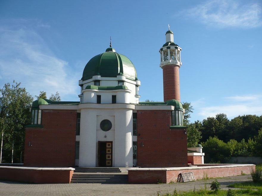 Мечеть Тауба город Нижний Новгород 2019