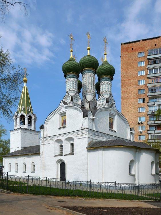 Церковь Успения Пресвятой Богородицы на Ильинской горке город Нижний Новгород