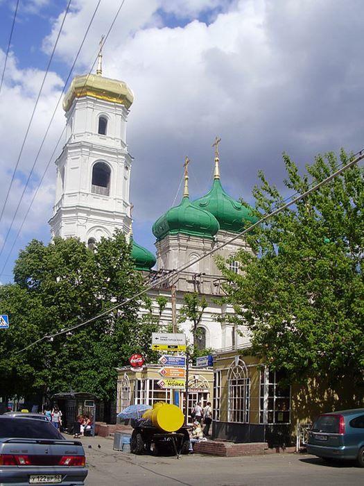 Церковь Вознесения Господня город Нижний Новгород