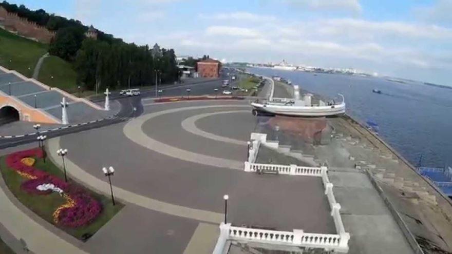Скачать онлайн бесплатно лучшее фото города Нижний Новгород Набережная