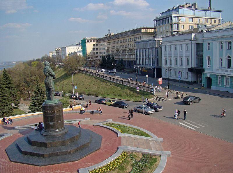 Верхняя Волжская Набережная город Нижний Новгород