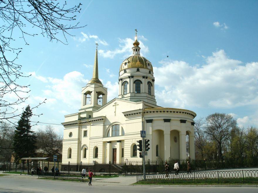 Храм Иоанна Кронштадтского город Ростов-на-Дону