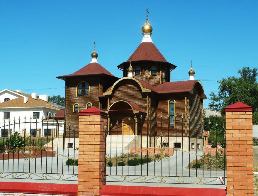 Храм в честь иконы Божией Матери Всех скорбящих город Ростов-на-Дону