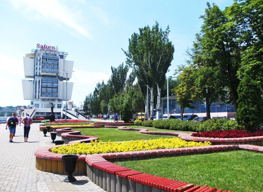 Скачать онлайн бесплатно лучшее фото города Ростов-на-Дону набережная в хорошем качестве