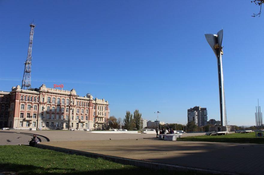 Стела города Ростов-на-Дону