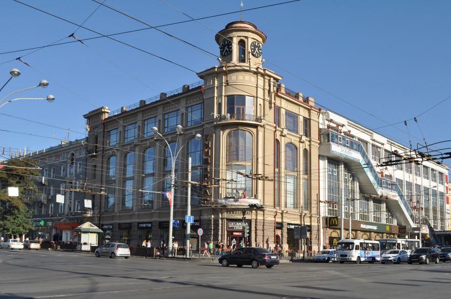 Вид на дом Г.Г. Пустовойтова город Ростов-на-Дону