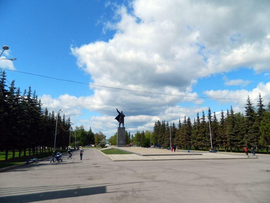 Площадь В.И. Ленина город Уфа