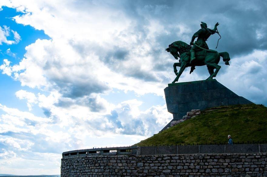 Памятник Салавату Юлаеву город Уфа