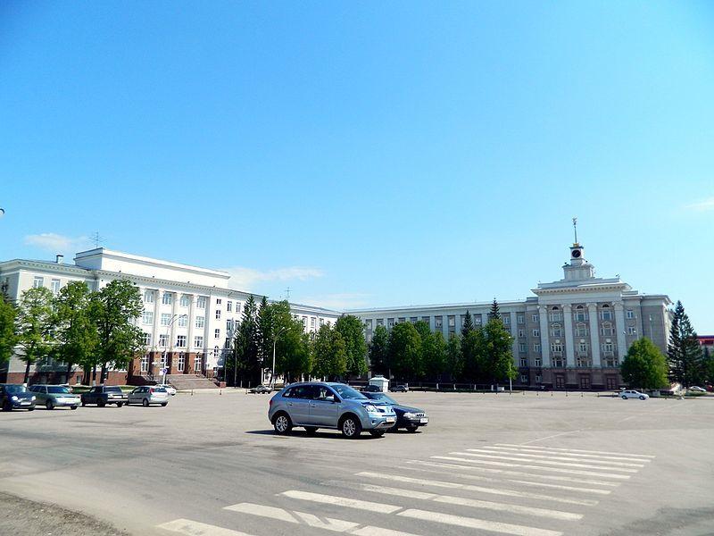 Советская площадь город Уфа