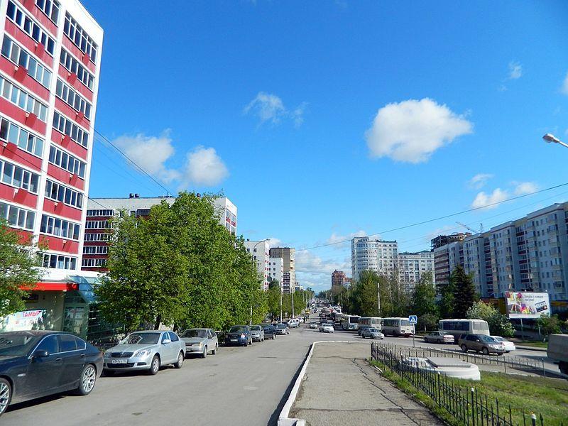 Смотреть красивое фото улица Гафури город Уфа