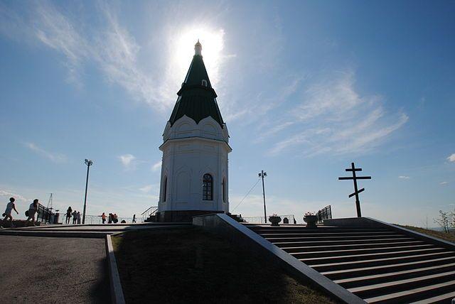 Часовня Параскевы Пятницы город Красноярск
