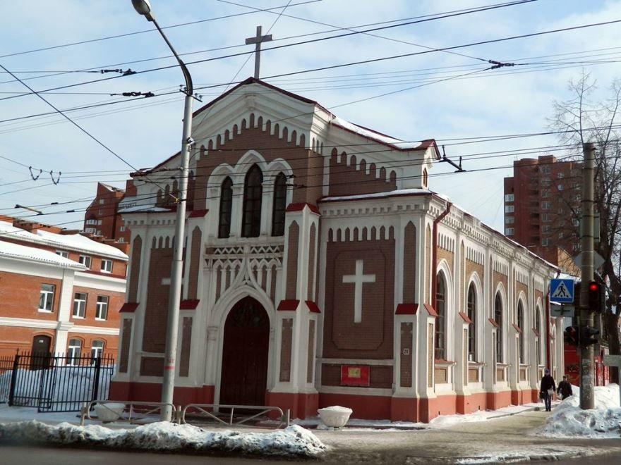 Храм Непорочного Зачатия Пресвятой Девы Марии город Пермь