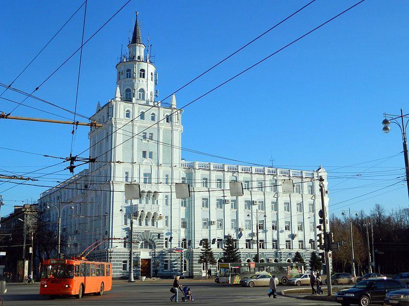 Смотреть красивое фото Башня смерти город Пермь в хорошем качестве