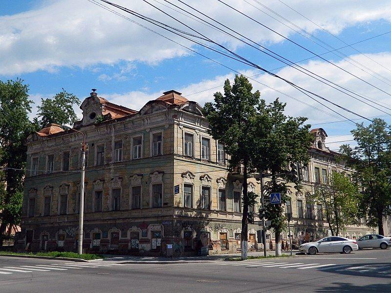 Доходный дом Кувшинского город Пермь