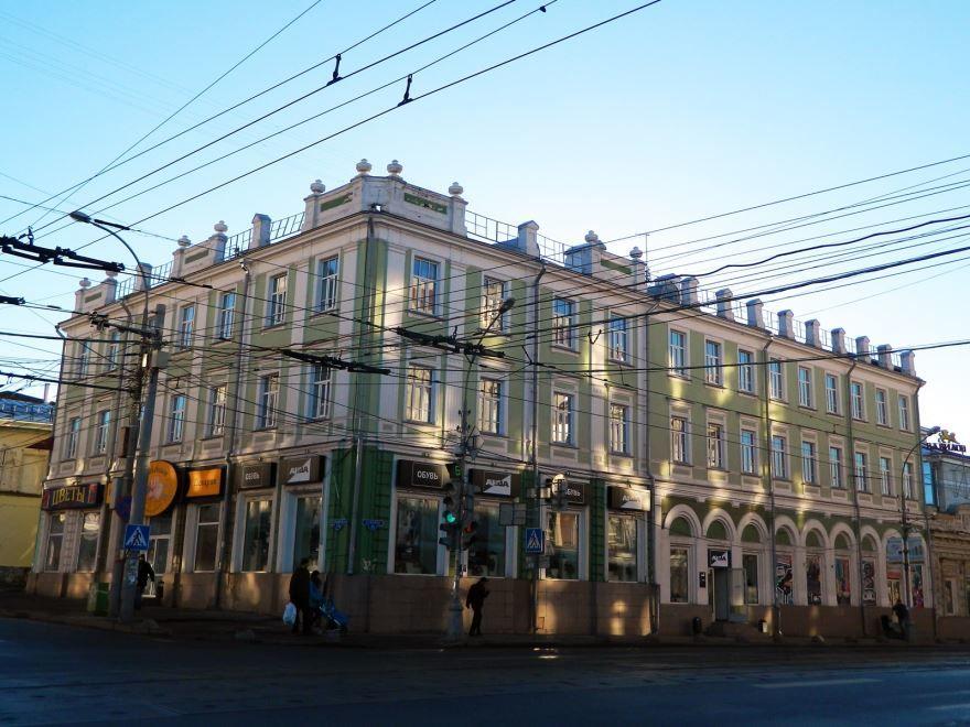 Дом купцов Базановых город Пермь