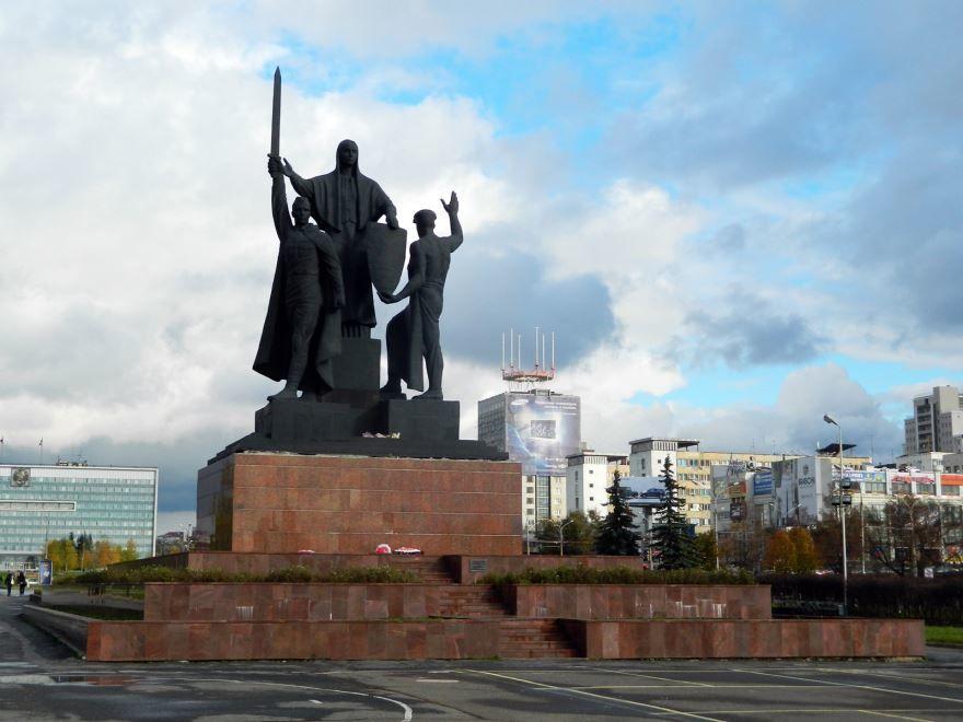 Памятник героям фронта и тыла город Пермь