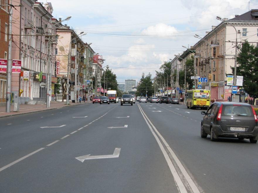 Улица Ленина город Пермь