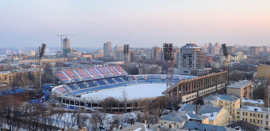 Центральный стадион профсоюзов город Воронеж